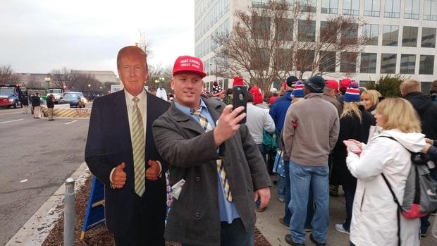 Trump supporter MEE